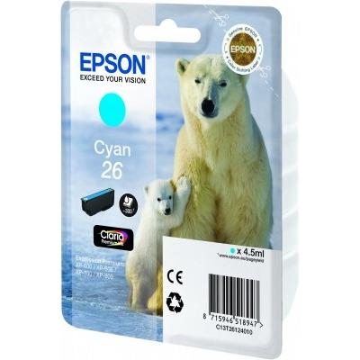 Epson 26 L Inktcartridge Blauw