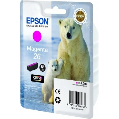 Epson 26 L Inktcartridge Magenta