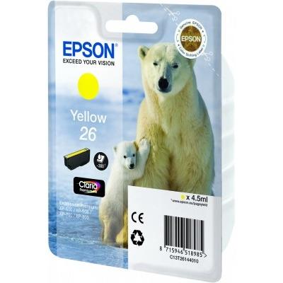 Epson 26 L Inktcartridge Geel