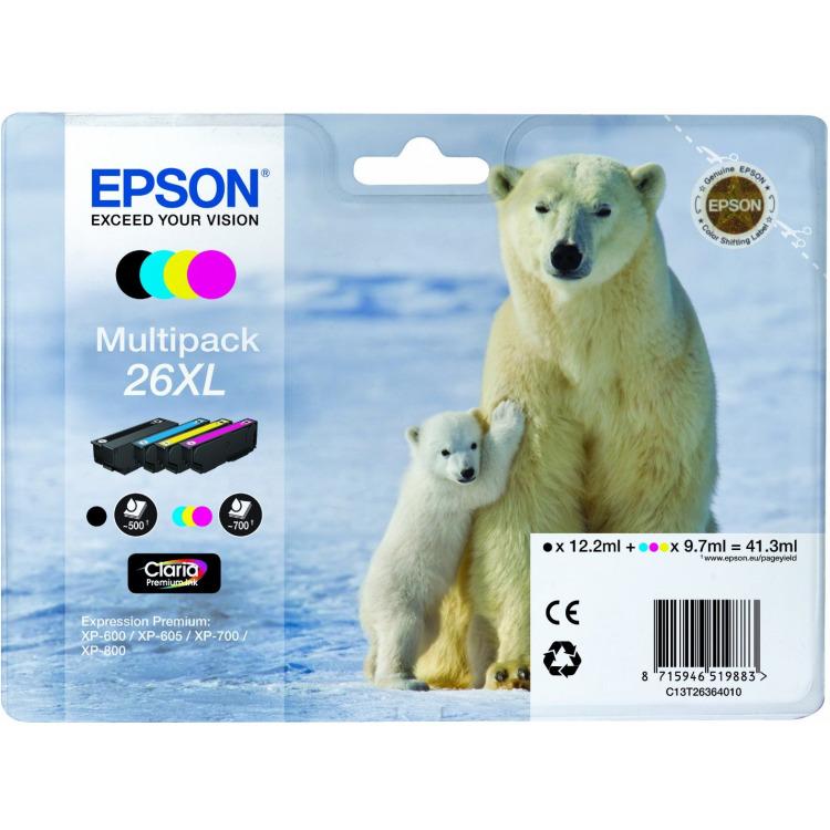 Epson Set inktpatronen XL »T263640«