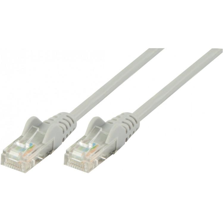 UTP CAT 5e netwerkkabel 1,00 m grijs