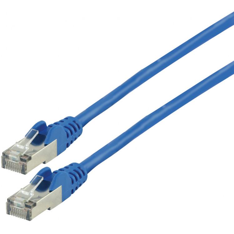 FTP CAT 5e netwerkkabel 3,00 m blauw