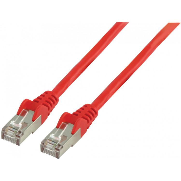 FTP CAT 5e netwerkkabel 2,00 m rood