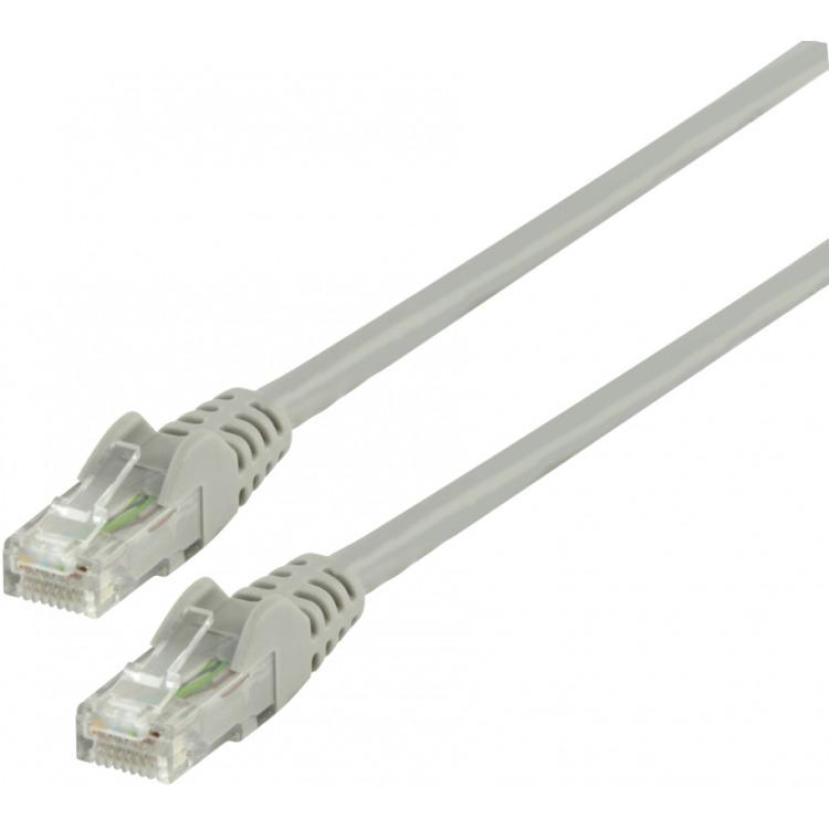 UTP CAT 6 netwerk kabel 1,00 m grijs