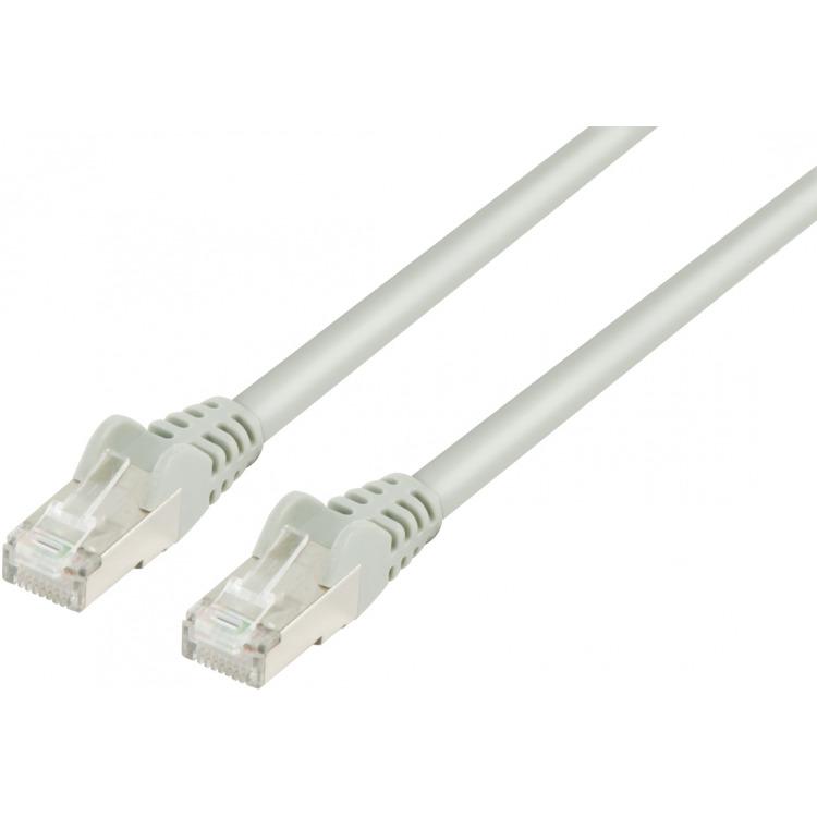 FTP CAT 6 netwerk kabel 20,0 m grijs