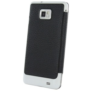 ANYMODE Anymode Fashion Folio Cover voor Galaxy SII (Zwart) (MCLT026JBK)