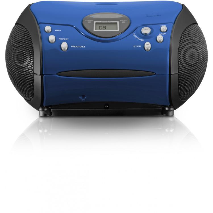 Lenco CD-speler blauw