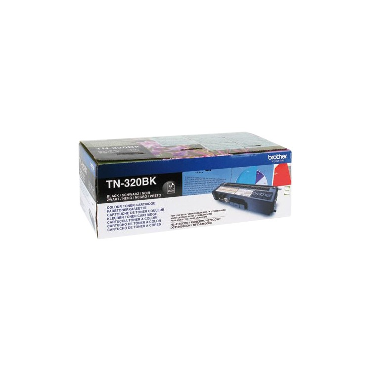 TN 320 Black Toner