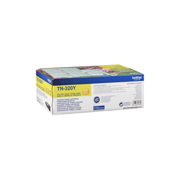 TN 320 Yellow Toner