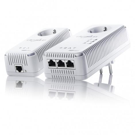 Powerline homeplug dLAN 500 AV Wireless+ starterkit met wifi