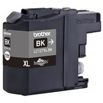 Brother LC-127XLBK Black (zwart)