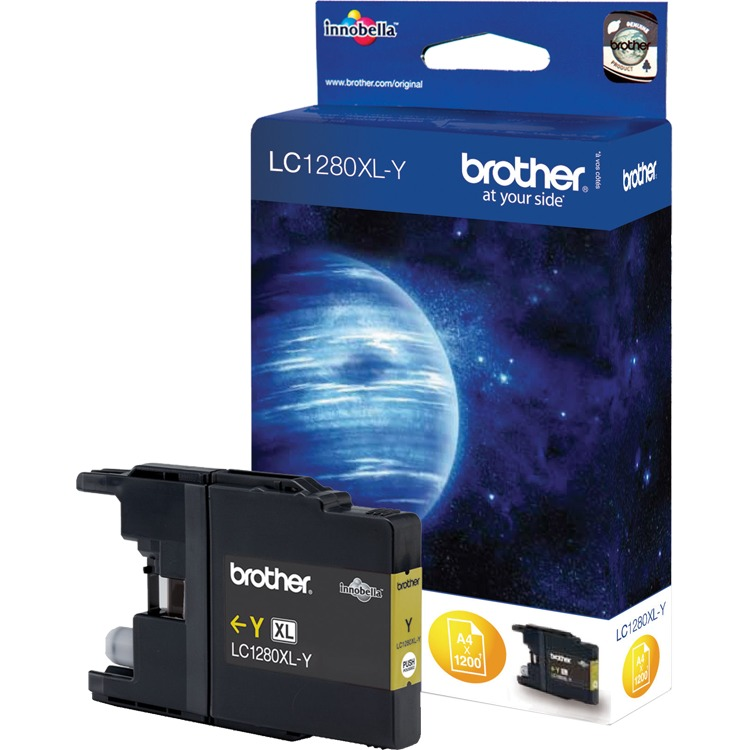 Brother LC-1280Y XL Yellow (geel)