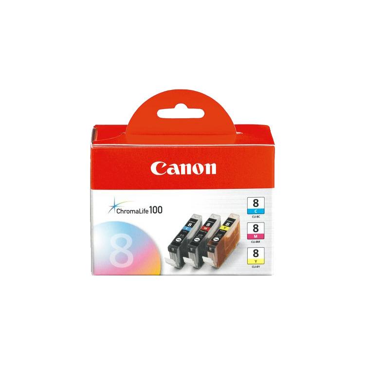Canon Multipak inktpatronen »CLI-8CMY«
