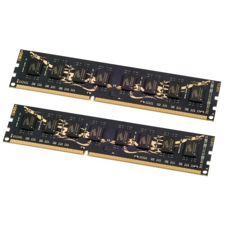Geil DDR3-1600 MHz Hardcore Gaming Memory Kit - 16 GB / Zwart