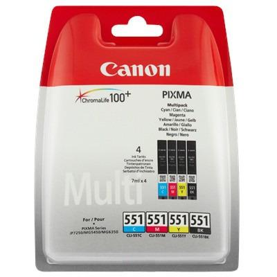 Canon CLI-551 - Inktcartridge / Multipack