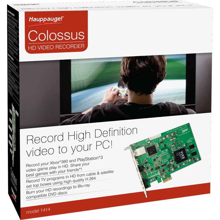 Haupp. Colossus HD Video Recorder   PCIe