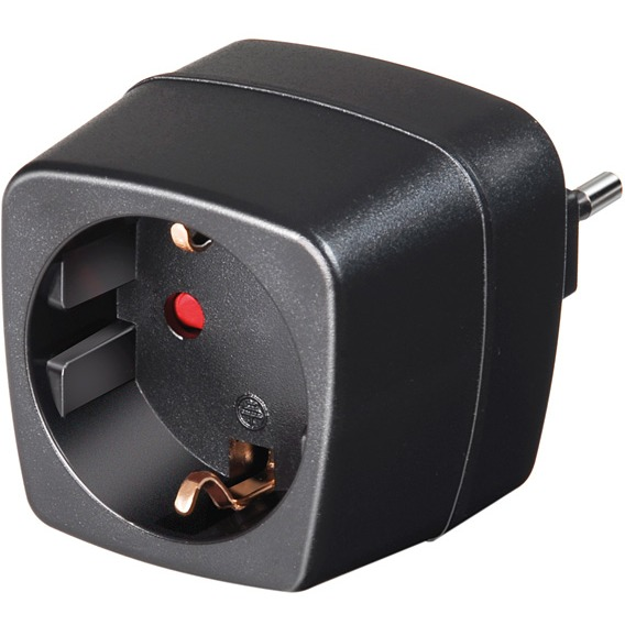 Brennenstuhl Travel Adapter earthed socket-IT, 250V, 10A (1508470)