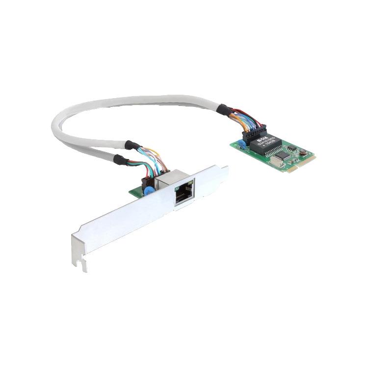 MiniPCIe I/O PCIe full size 1 x Gigabit Lan kopen