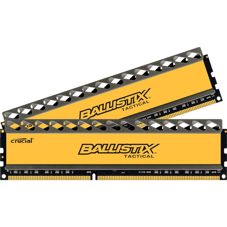Crucial Ballistix Tactical 8 GB DIMM DDR3-1600 Kit van 2