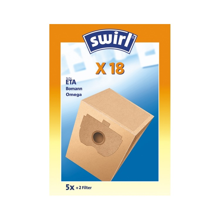Swirl Stofzuigerzakken X 18       5st+2F