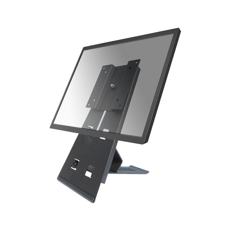 NewStar FPMA-D825BLACK - Flatscreen bureausteun - Geschikt voor tv's van 10 t/m 24 inch - Zwart