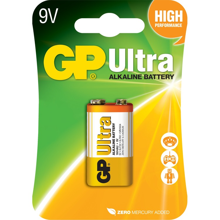 GPUltra Alkaline 9V blok (Retail)