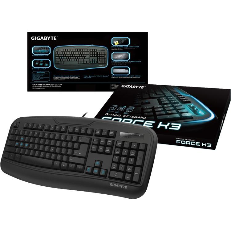 GiBy Force K3 Gaming Keyboard  USB