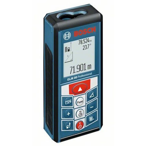 Image of Afstandsmeter GLM 80 +BS 150 Blauw