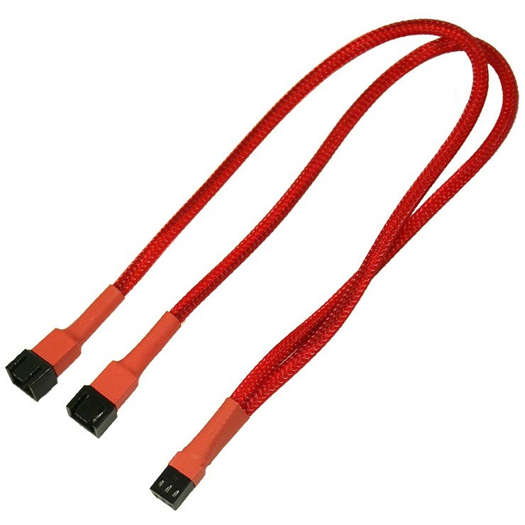 Image of 3-Pin Molex Y-Kabel 30 Cm Rd