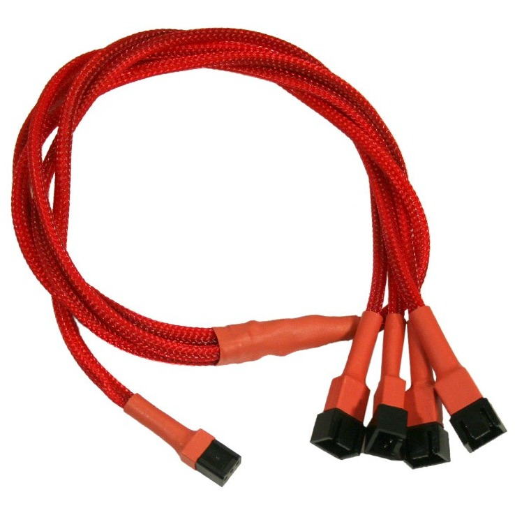 Image of 3-Pin Molex-4x3-Pin Adap.60cm Rd