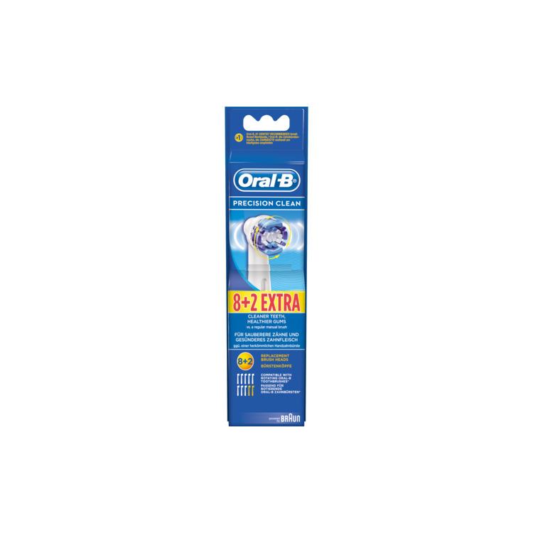 Oral B Opzetborstels Precision Clean 10stuks