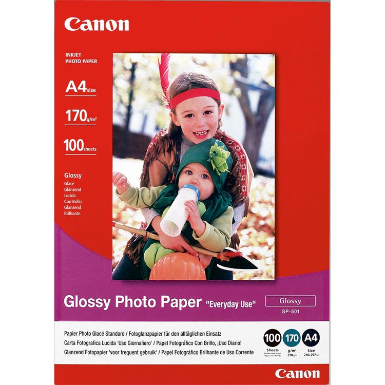 Canon GP-501 Glossy Fotopapier 100 vel A4
