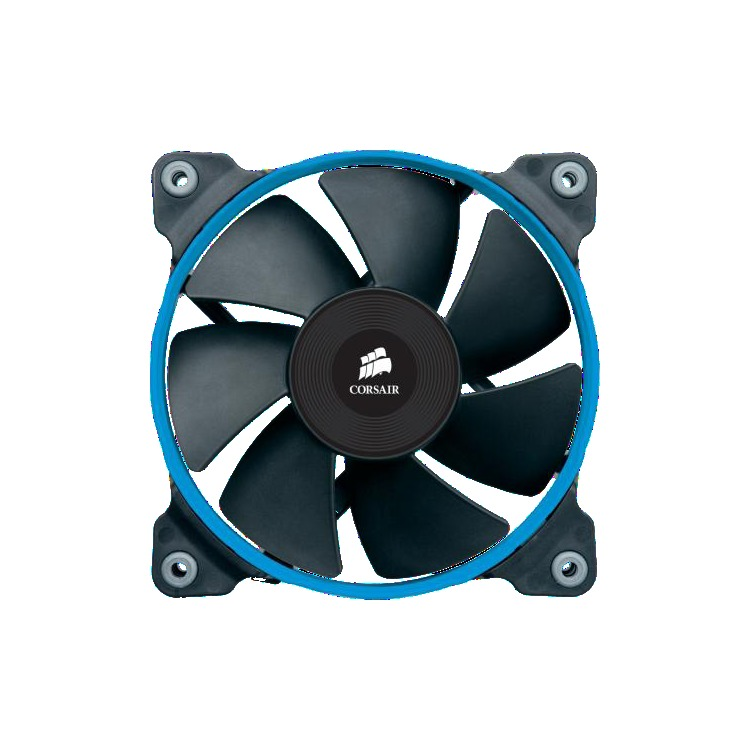 Corsair Fan. SP120. Low noise high pressure fan. 120 mm x 25 mm. 3 pin. Single Pack