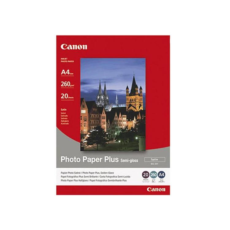 Canon Fotopapier »Plus-Semigloss«