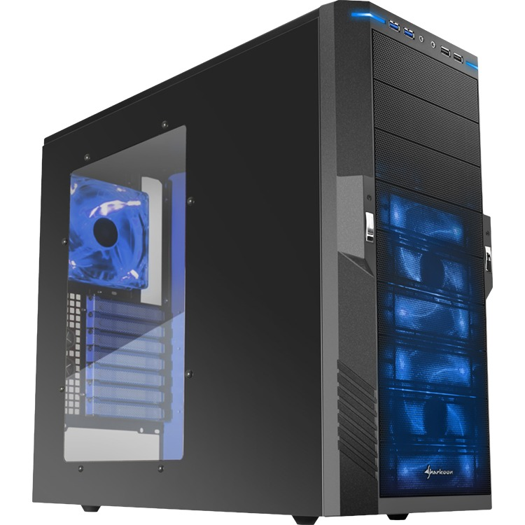 Sharkoon T9 Value blue edition  (Retail, USB 3.0)