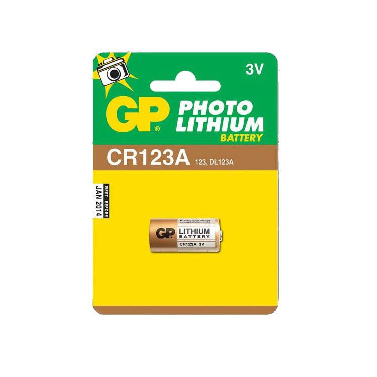 GP CR123A DL123A 1