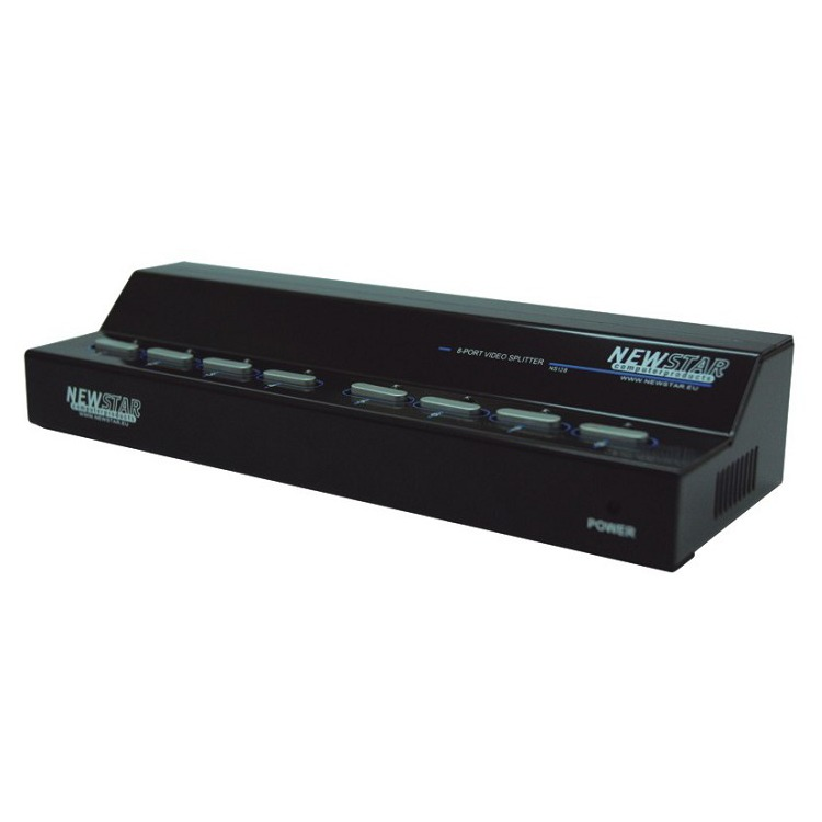 KVM NEWSTAR NS128 8p. Video splitter