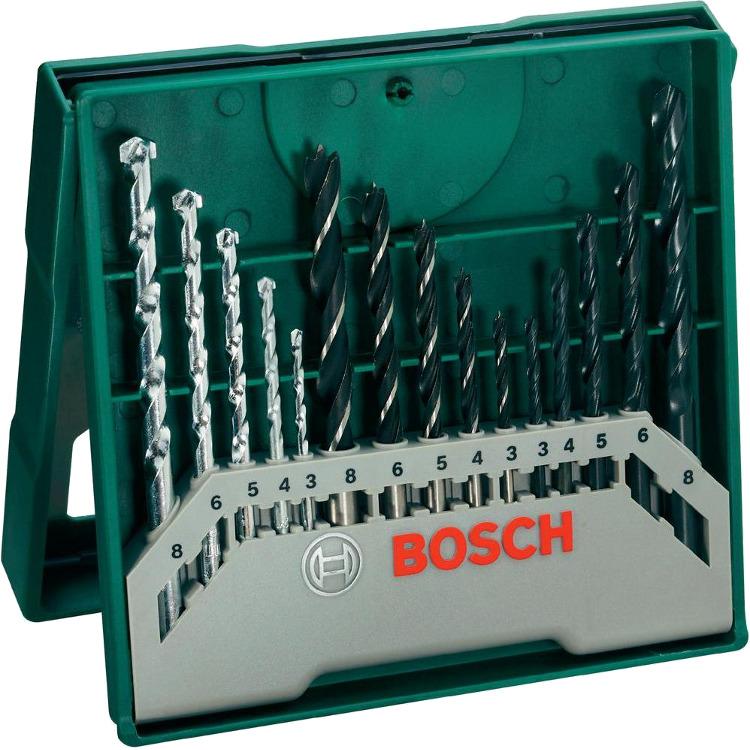 Bosch 15-dlg. X-Line mini-Set Boor