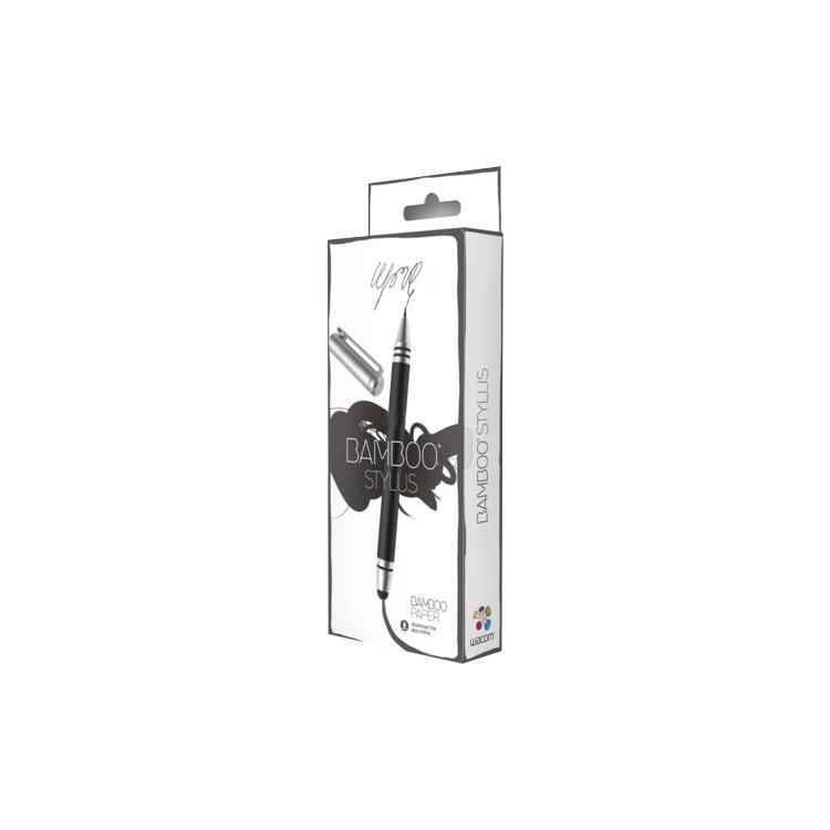Wacom Bamboo Stylus Duo Pen - Zwart / Zilver