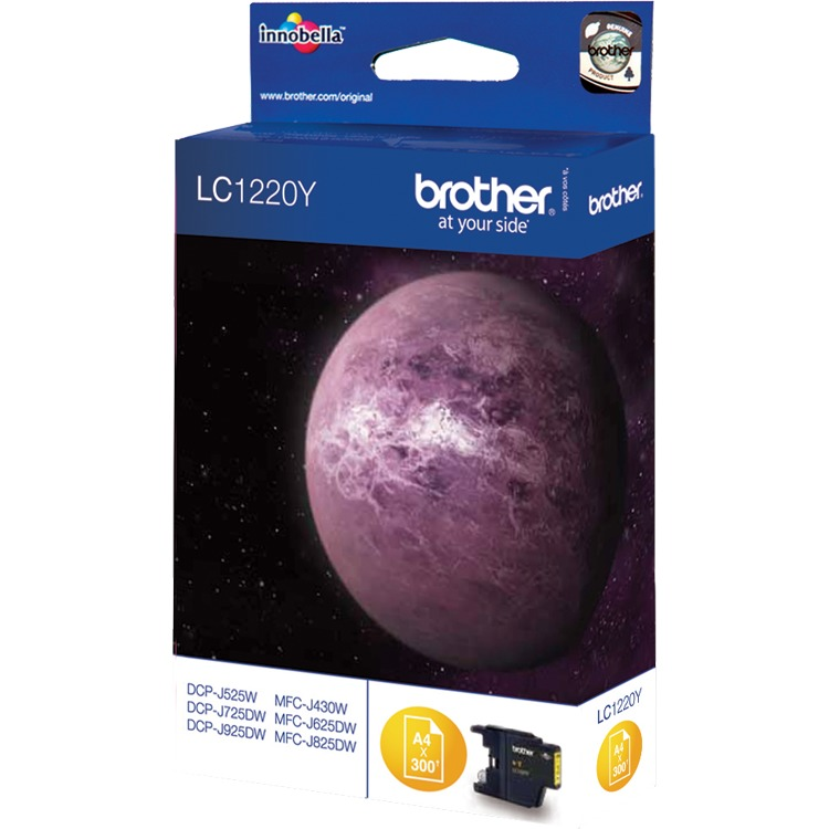 Brother LC-1220Y Yellow (geel)