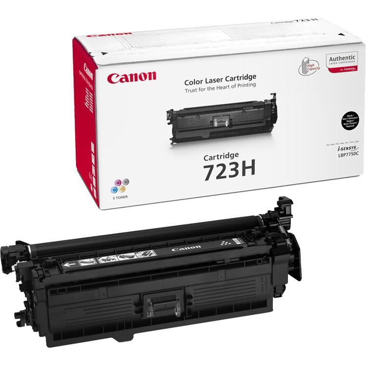 Canon 723 - Tonercartridge / Zwart / Hoge Capaciteit