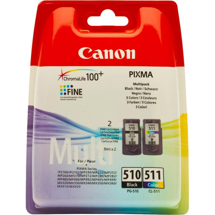 Canon Inktpatronenset »PG-510« & »CL-511«