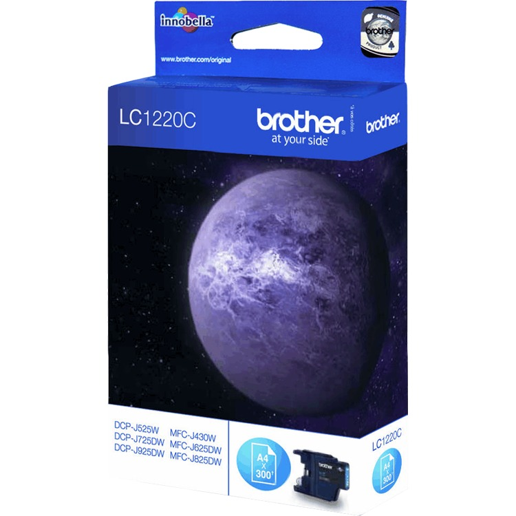 Brother LC-1220C Cyan (blauw)