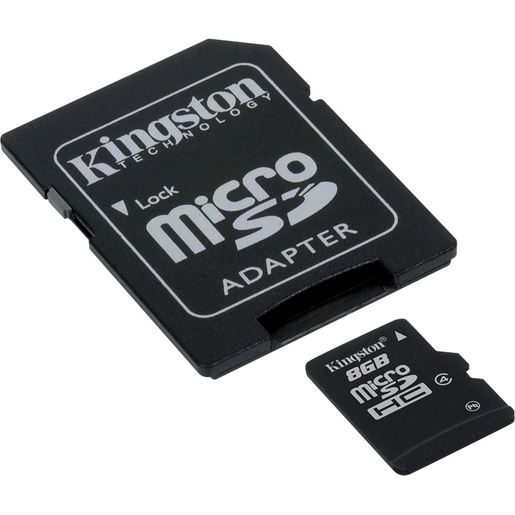 Kingston microSD kaart 8 GB