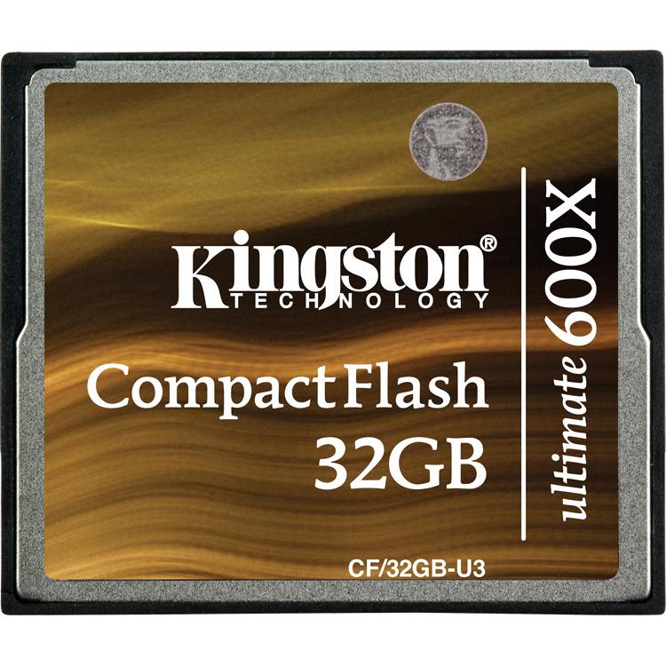 MEM CF 32GB COMPACT FLASH 600X Ultimate