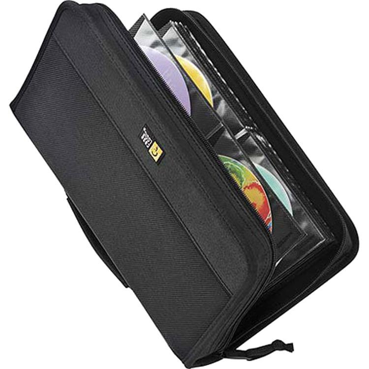 Case Logic Nylon 64 Capacity CD Wallet - Zwart