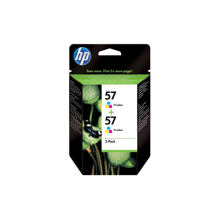 HP Dubbel pak inktpatronen »HP C9503AE« HP 57