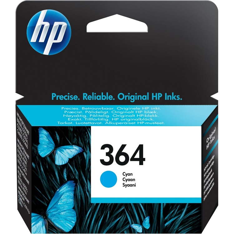 HP 364 - Inktcartridge / Cyaan