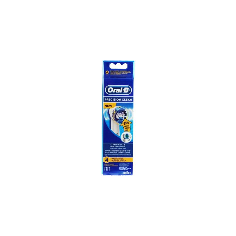 Extra opzetborstel, Oral-B, 'Precision Clean', set van 4