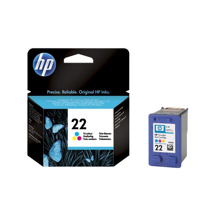 HP Inktpatroon »HP C9352AE« HP 22
